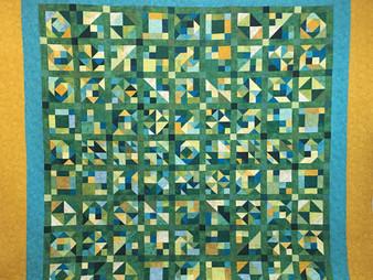 Susan Justice My Own Design Quilt