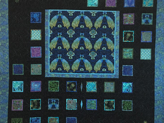 Peggy Krebs A Collection of Peacocks Quilt