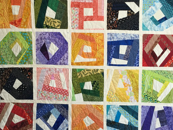 Laura Wetzel Lots of Scraps Quilt