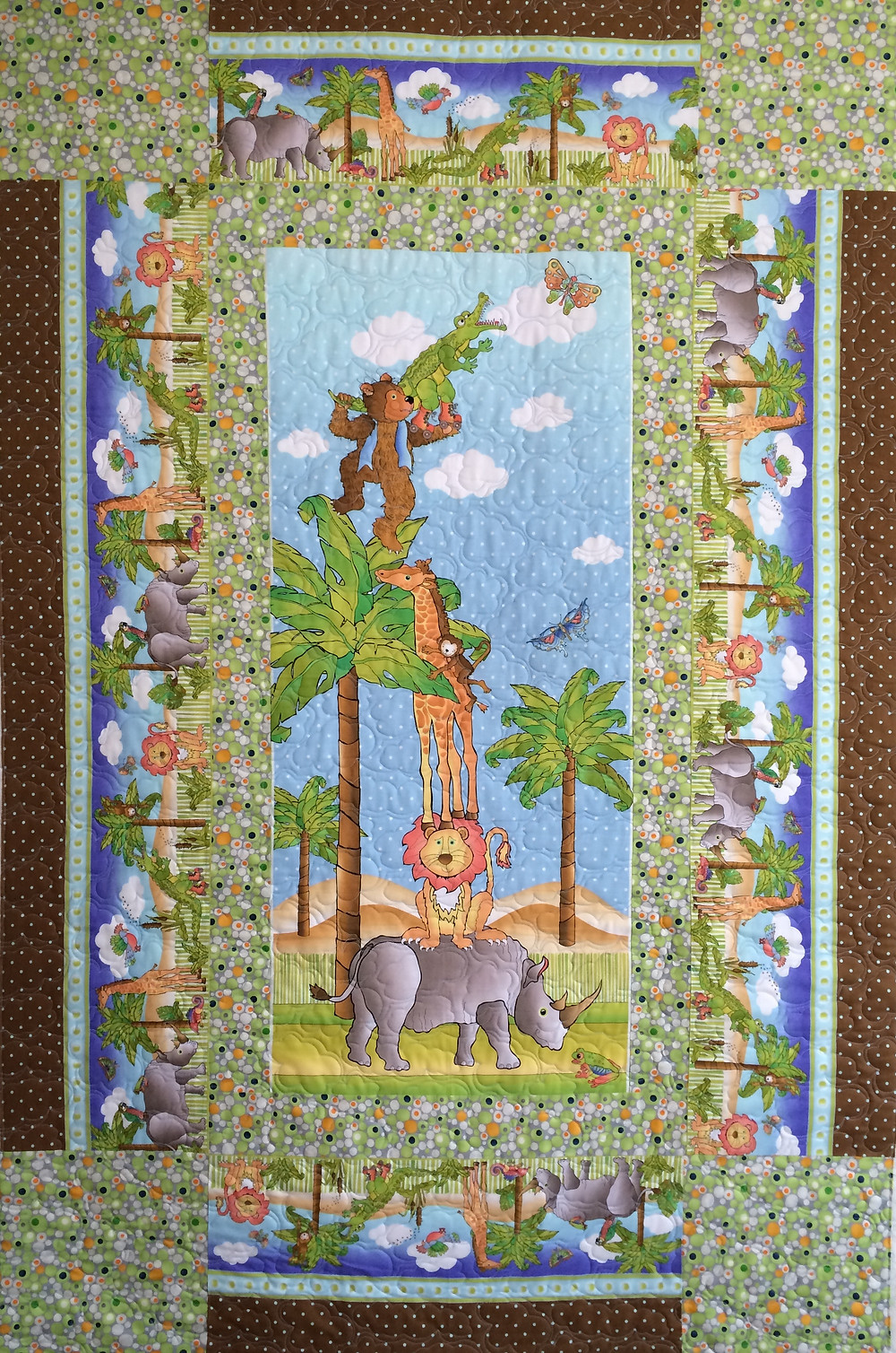 Jeri Aminals at Play Quilt