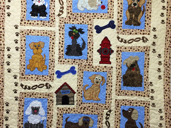 Patricia Foret A Dogs Life Quilt