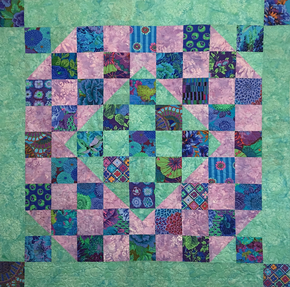 Evvy Nine Patch Variation Quilt