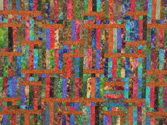 Valarie Sherriff Squares and Rectangles in Batik