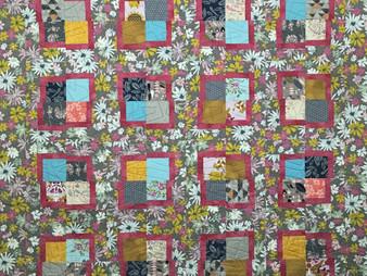 Jill Seward Wacky Squares Quilt