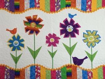 Joan Murken Flower Quilt
