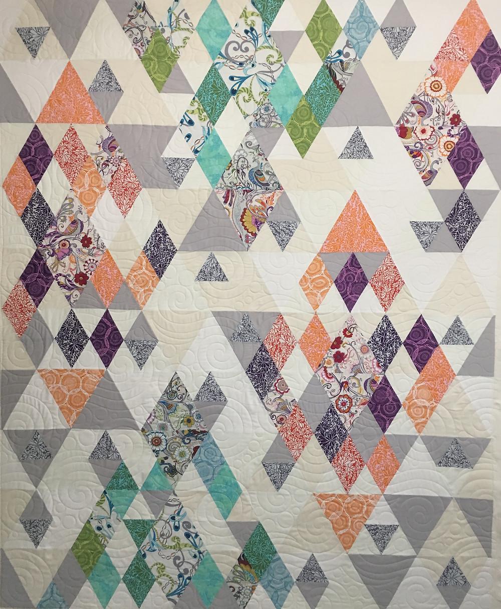 Dancing Quilt by Nancy Kear Johnson