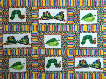 Nancy Thornton Very Hungry Caterpillar Quilt