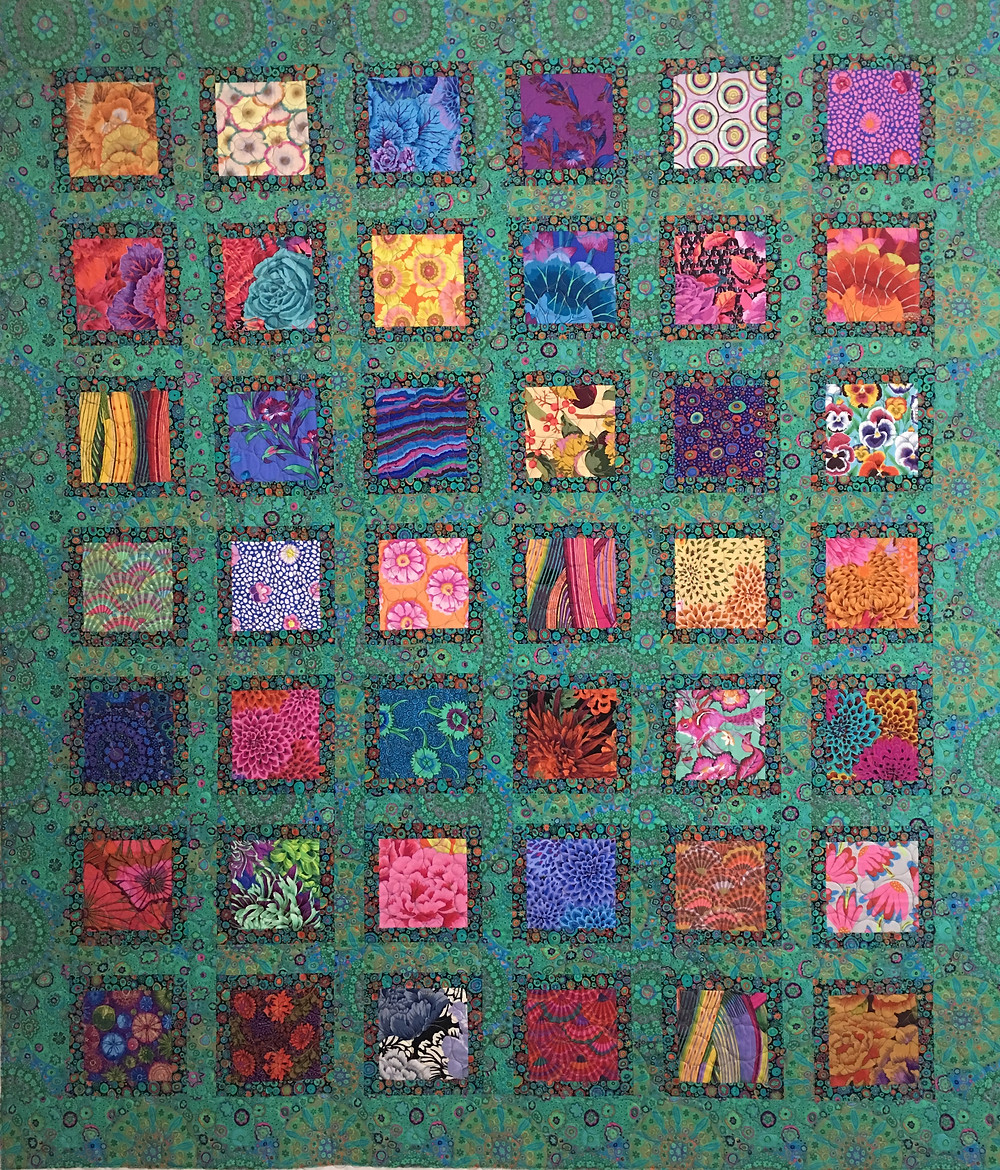 Say Hello to my Little Friends Quilt by Sally Krebs