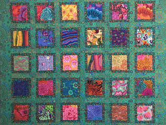 Sally Krebs Say Hello to My Little Friends Quilt