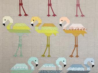 Delfina Guerra Flamingo Quilt