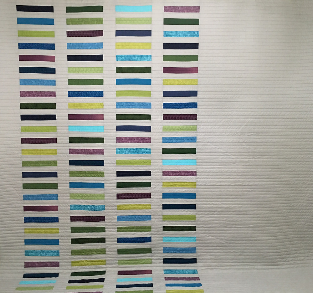 Fiona Modern Gray Quilt