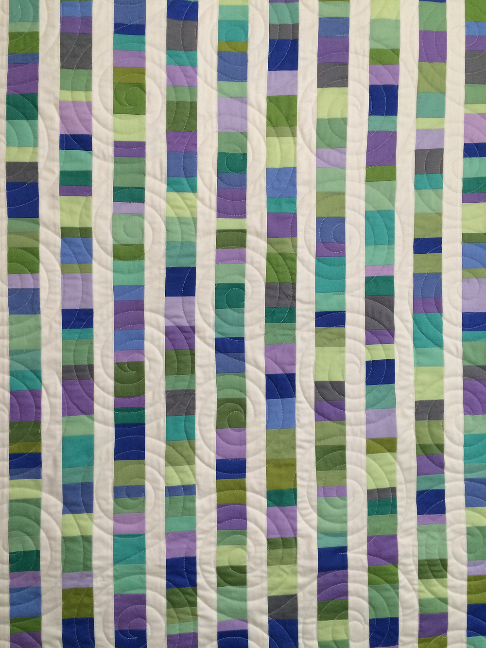 closeup of Kathy Ryans Quilt Made Modern