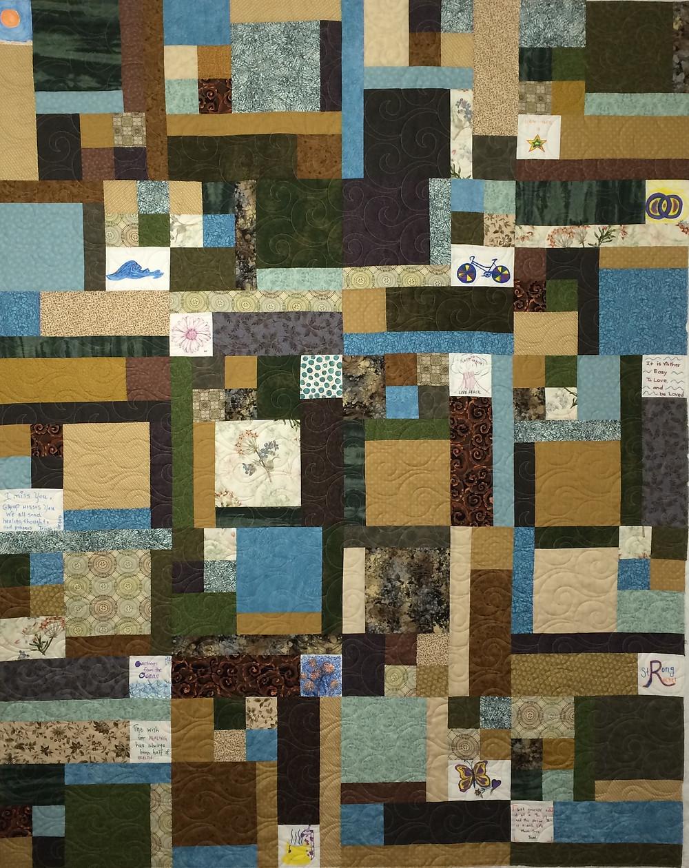 Turning Twenty Quilt by Jill Seward