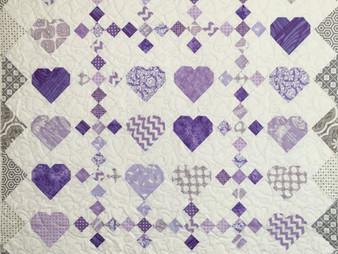 Lisa McCluer Purple Hearts Qult