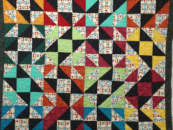 Sarah Nichols Bright Blocks Quilt