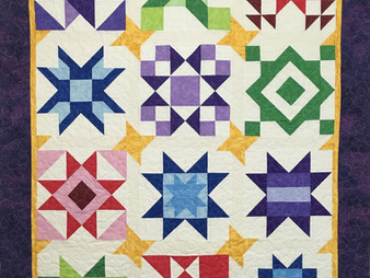 Mary Derryberry Starry Wonders Quilt