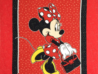 Beth Robertson Minnie Mouse Quilt
