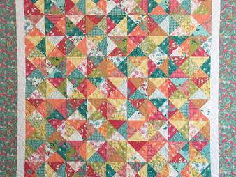 Susan Abram Bright Colorful Florida Quilt