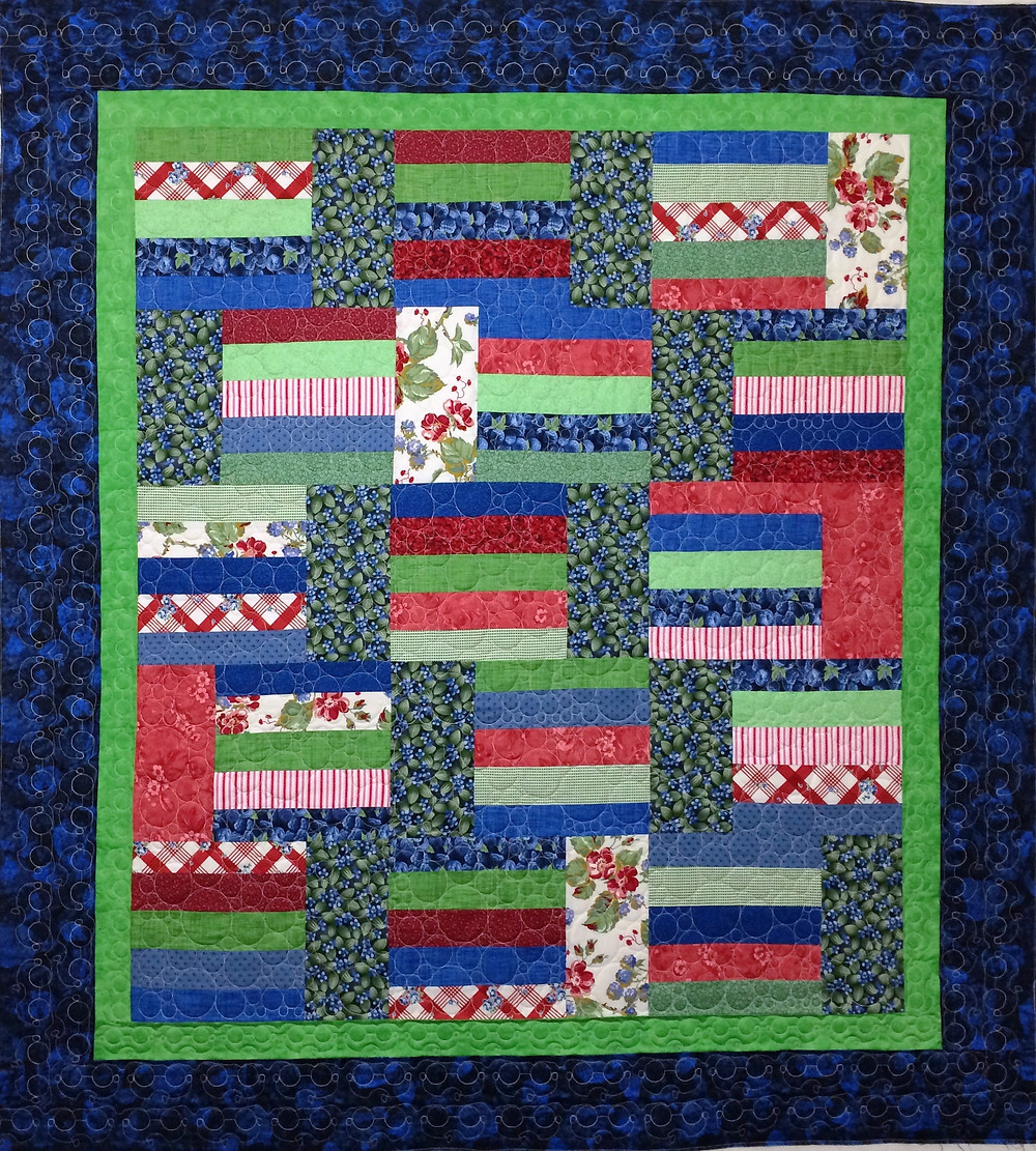 Jelly Roll Quilt by Lori Becker