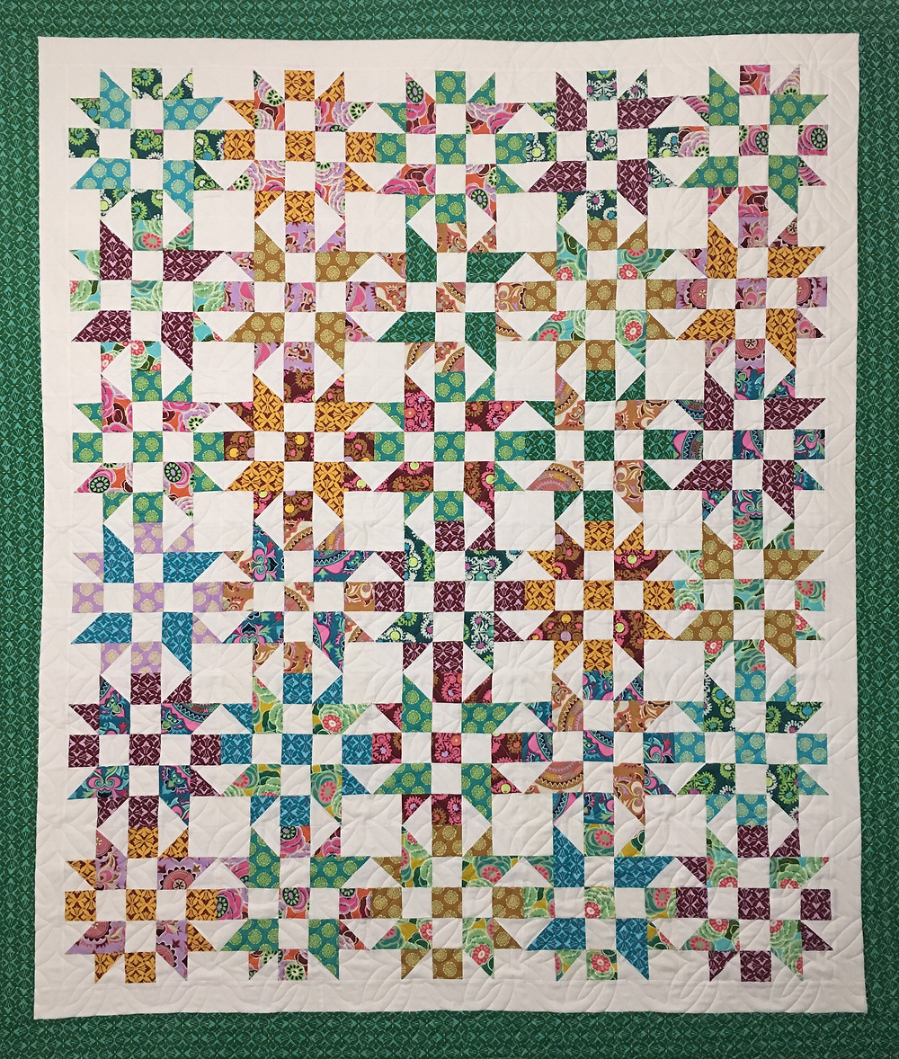 Studio Stars a MSQC Tutorial Quilt by Mary Derryberry