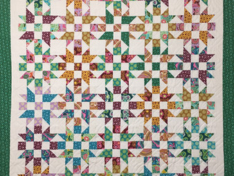 Mary Derryberry Studio Stars A MSQC Tutorial Quilt