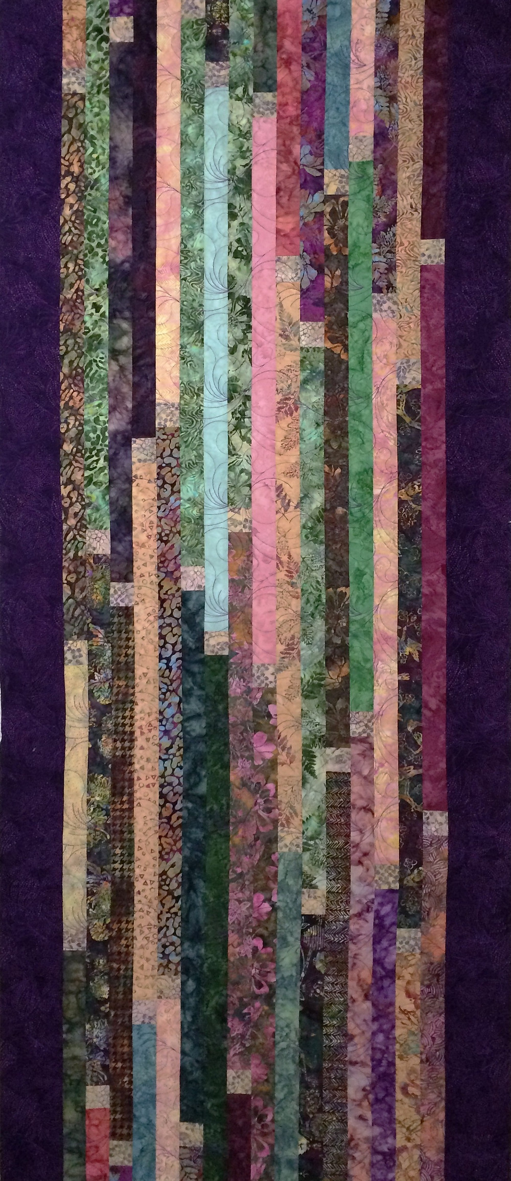 Bali Jelly Roll Quilt by Sally Krebs