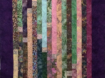 Sally Krebs Bali Jelly Roll Quilt