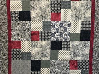 Debbie Seitz Squares in a Square Quilt