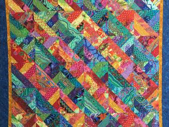 Valarie Sherriff Half Square Triangle Blocks Quilt