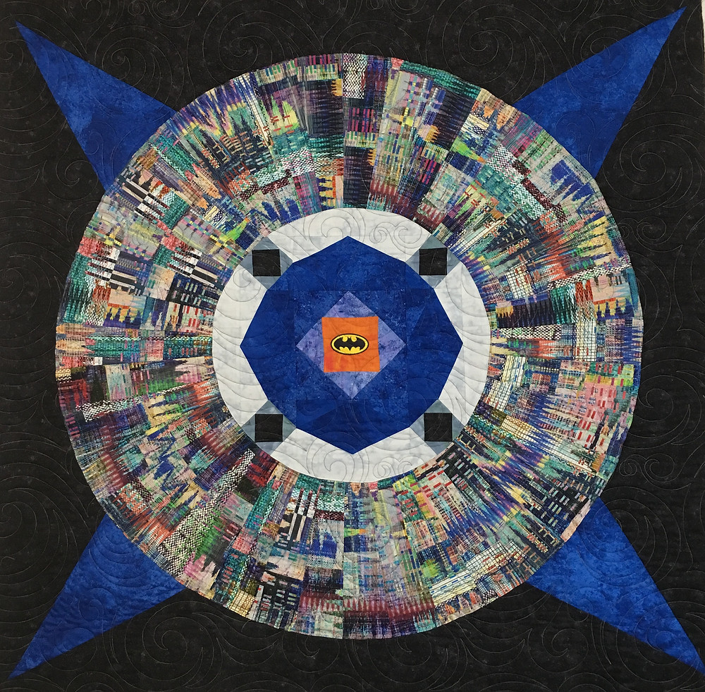 Gotham Quilt by Peggy Krebs