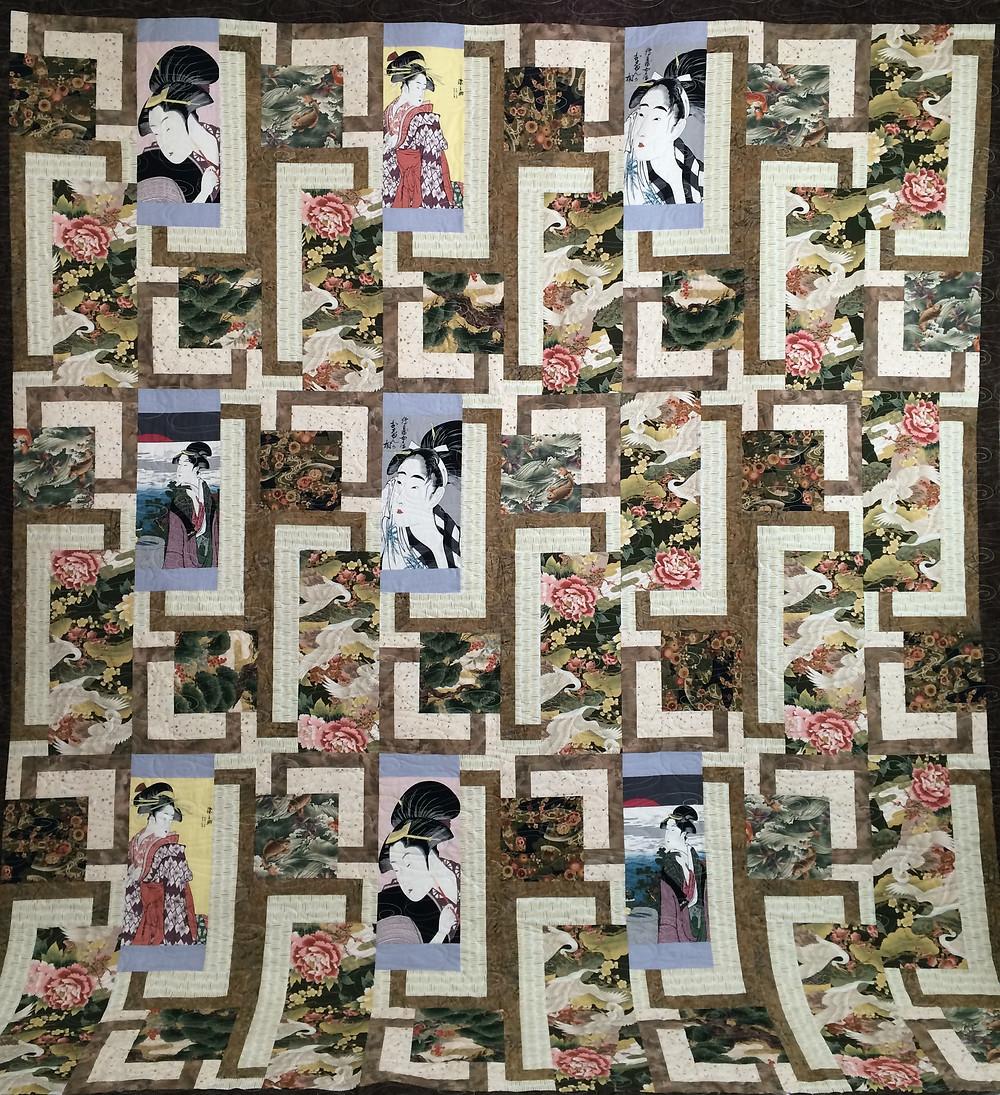 Anita Oriental Quilt