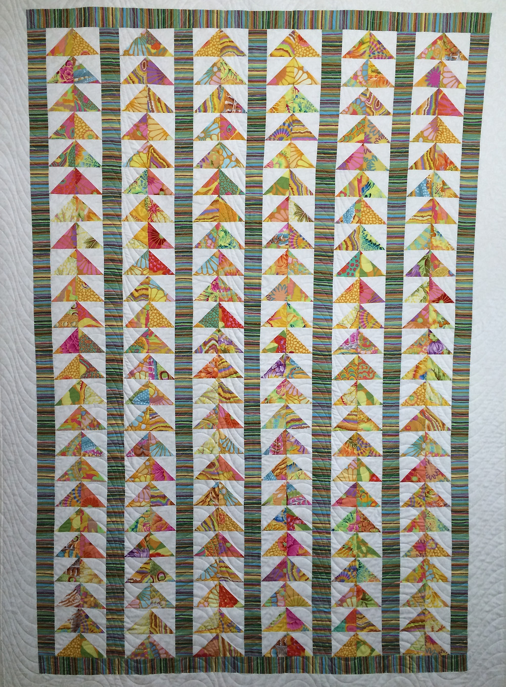 Sue Flying Geese Quilt