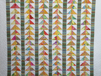Sue Antle Flying Geese Quilt