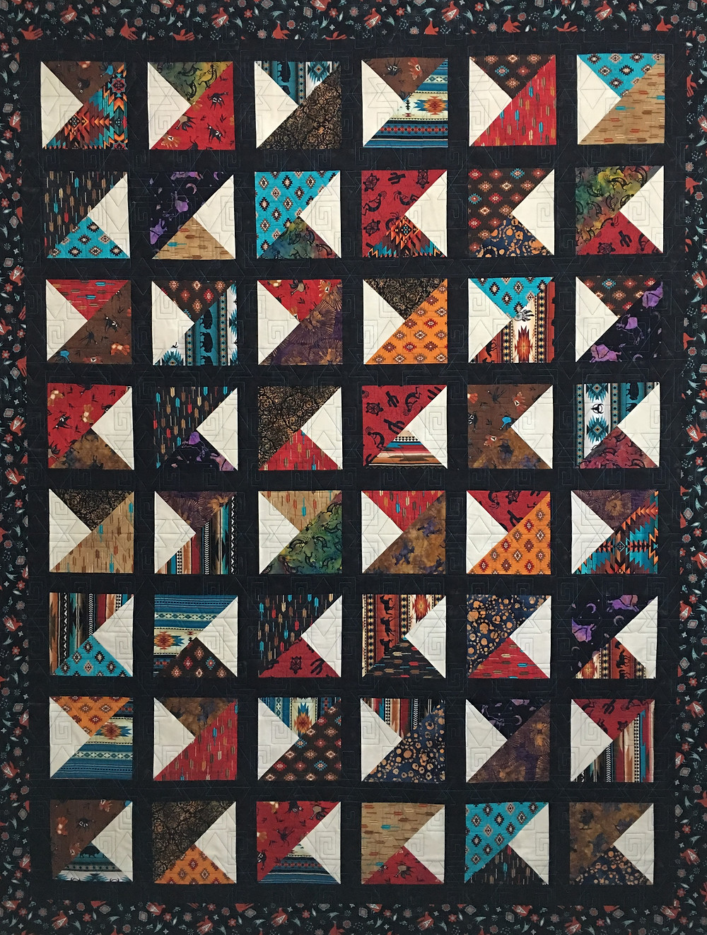 Southwestern Quilt by Terri Manley