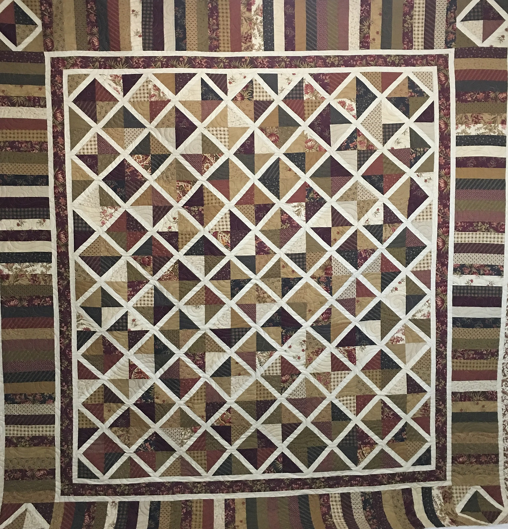 Lattice by MSQ Quilt by Jocelyn Robinson