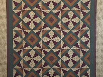 Aline Babin Wild Block in Timeless Treasures Fabric