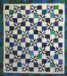 MSQ Hunters Star quilt by Jocelyn Robinson