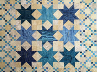 Penny Wheat Sea and Sand Quilt