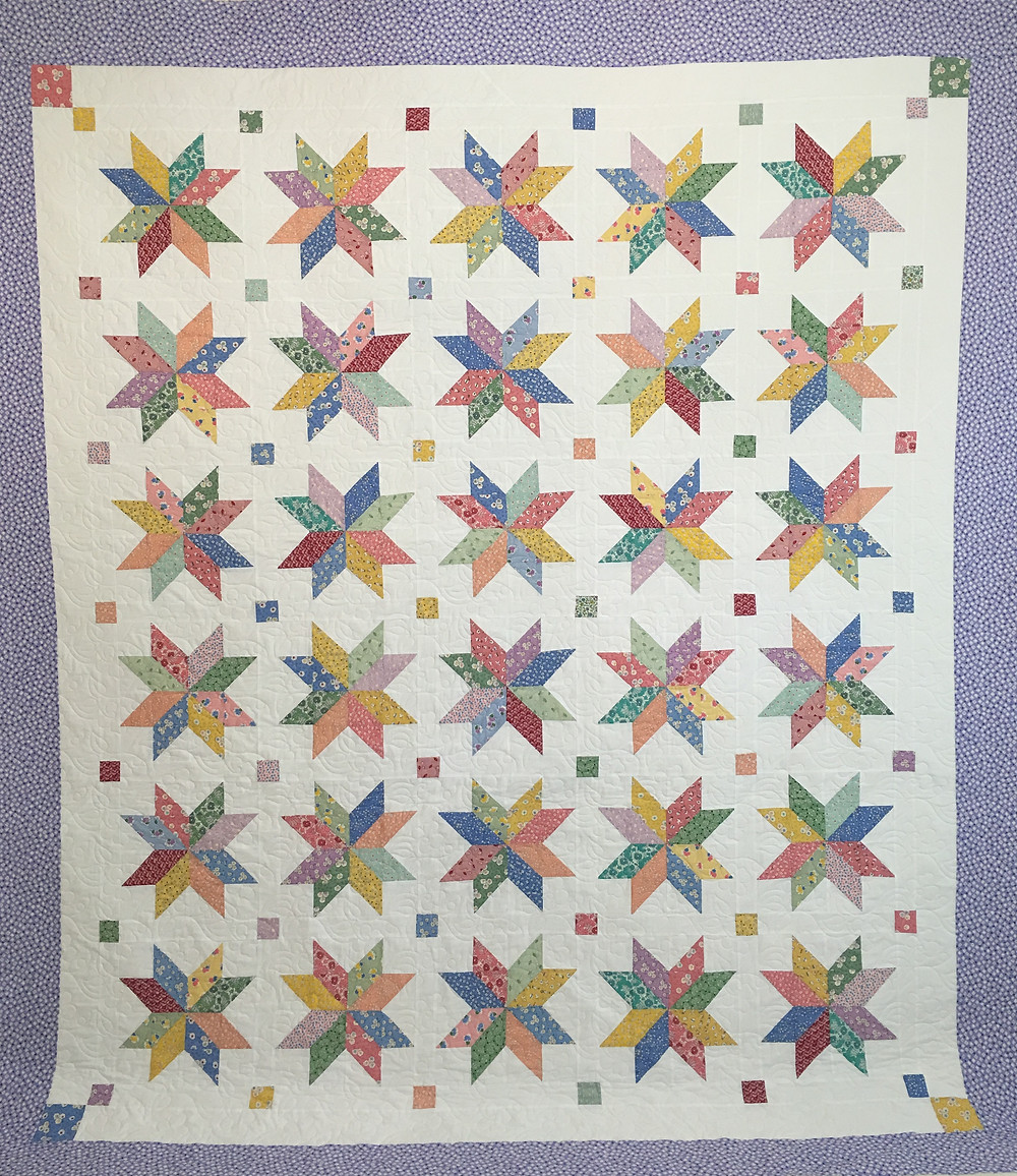 Ohio Star quilt by Andi Hays