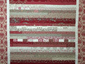 Jean Tucker's Jelly Roll Quilt
