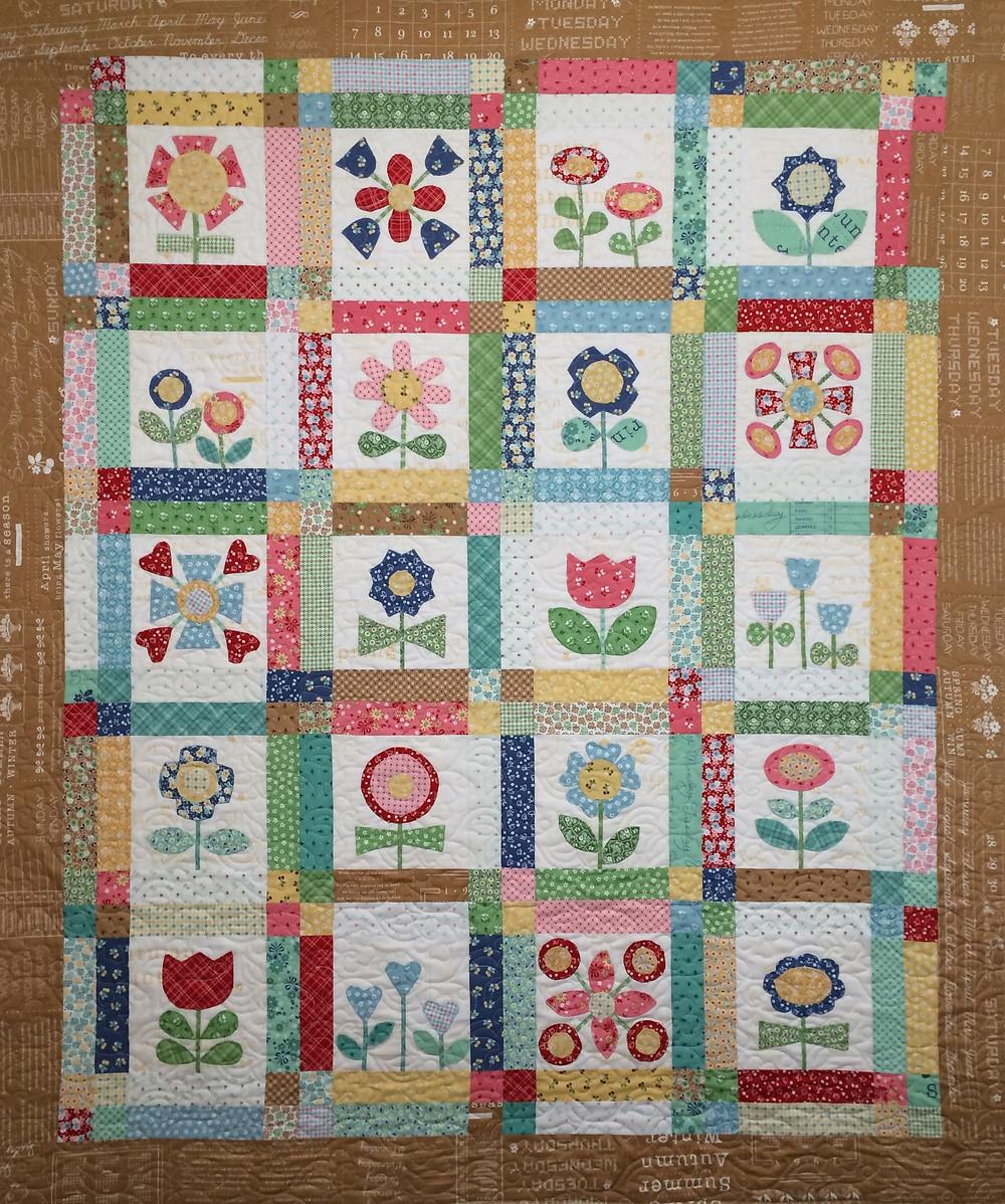 Codi Bloom with Applique Quilt