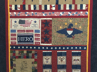 Leanne Strum Military Appreciation Quilt