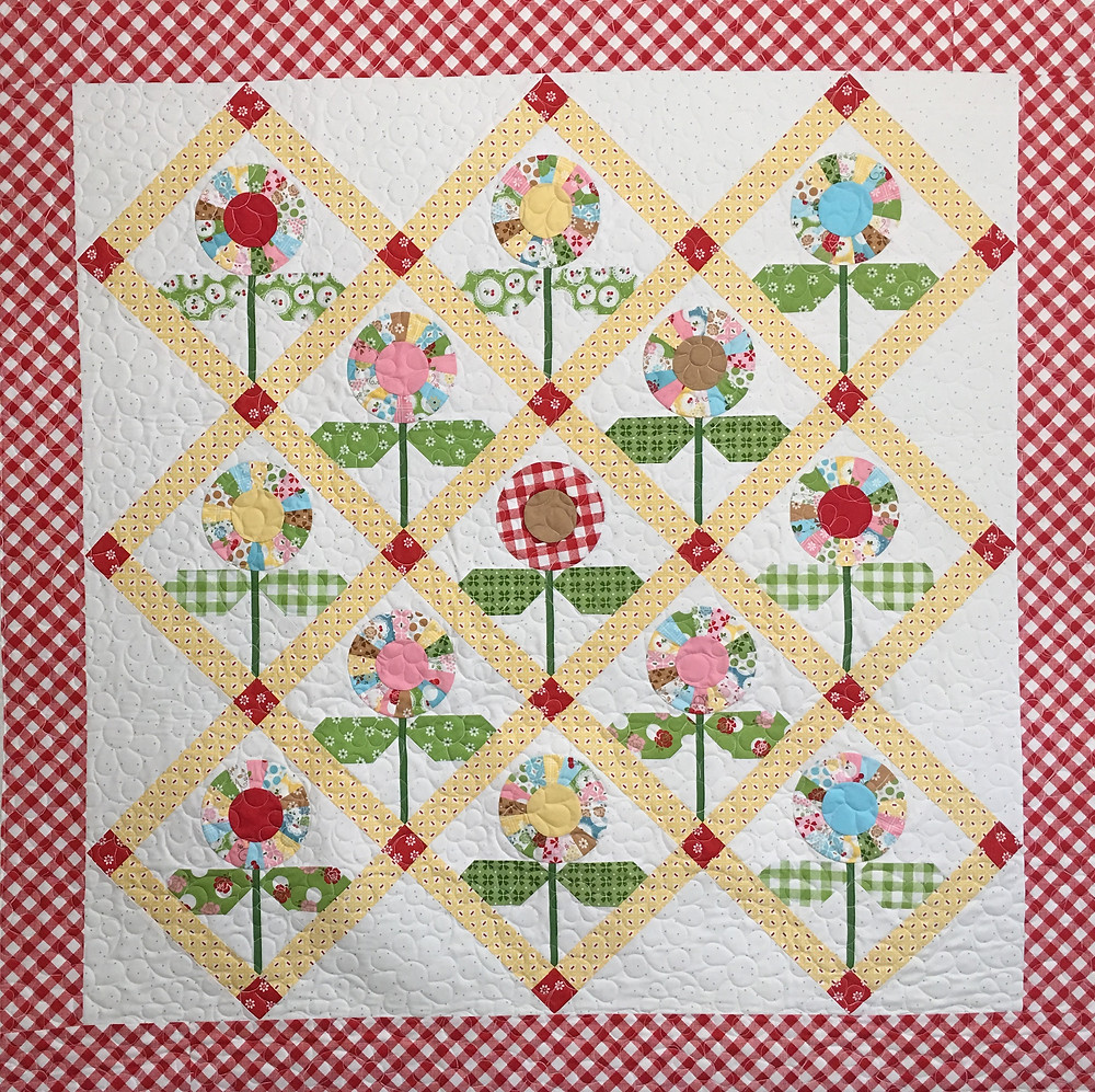 Bloom Quilt by Deb Taylor