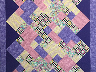 Charlene Lancaster Scrappy Blocks Quilt