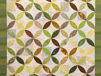 Sue Antle Circles of Leaves Quilt