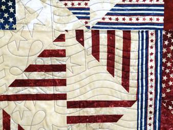 Beth Robertson Patriotic Quilt