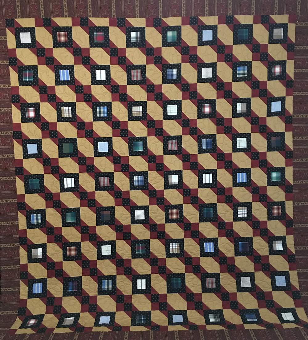Hip to be Square Quilt by Penny Gregory