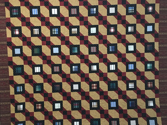 Penny Gregory Hip to be Square Quilt