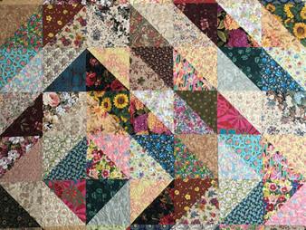 Sally Krebs Fiore Diamante Quilt