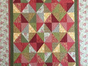 Lori Beckers Diamonds in Squares Quilt